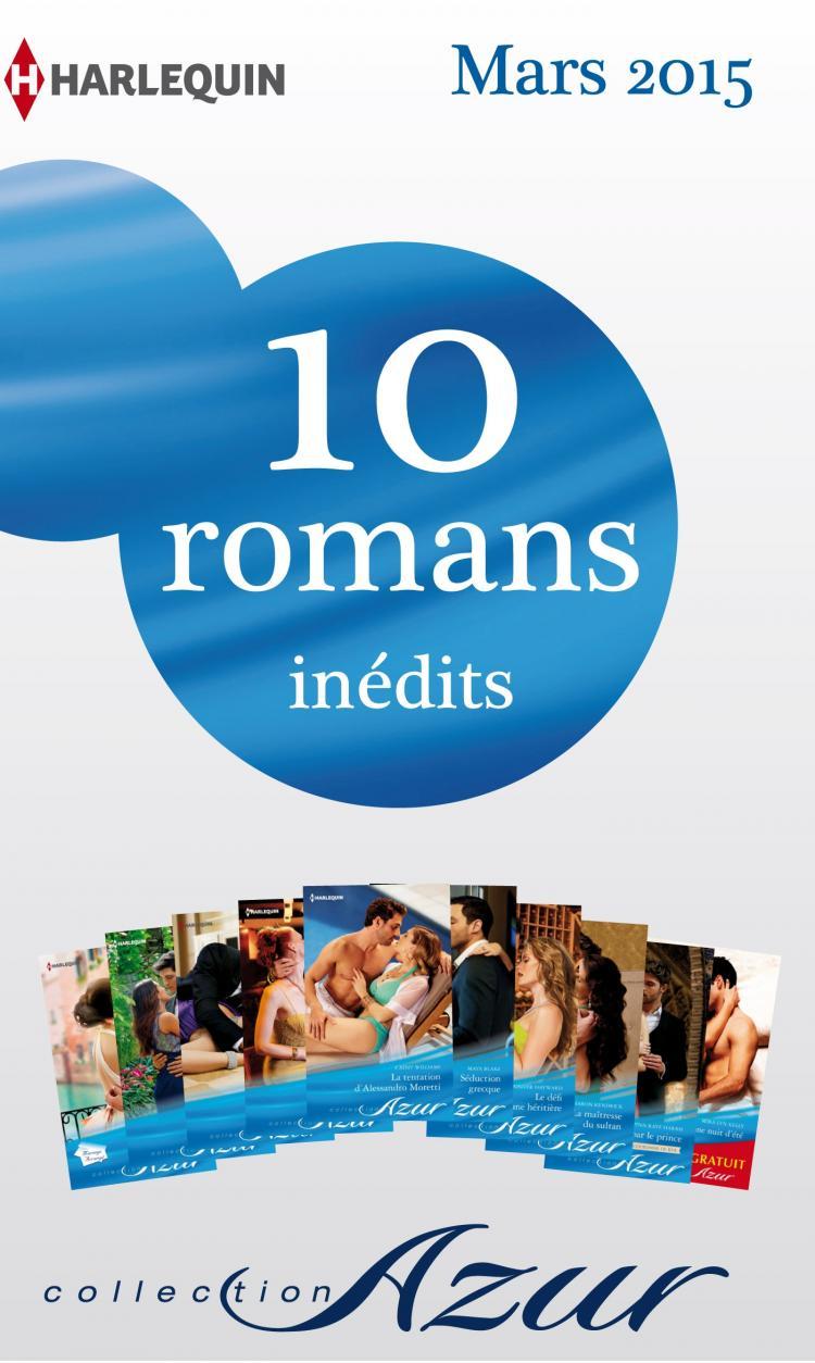 pack mensuel azur   10 romans   1 gratuit  mars 2015