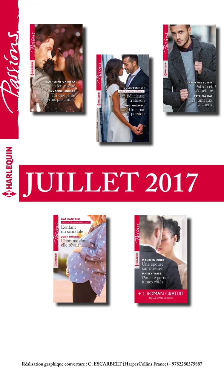 pack mensuel passions   10 romans   1 gratuit  juillet 2017