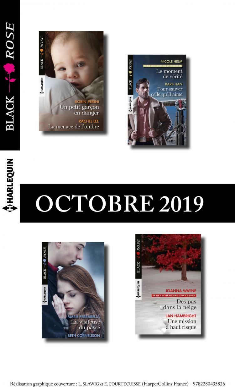 Pack Mensuel Black Rose 11 Romans Octobre 2019 Harlequin